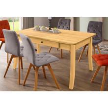 HOME AFFAIRE table de salle à manger Palermo, avec fonction rallonge et 2 tiroirs