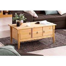 HOME AFFAIRE table basse Indra, avec 2 portes en bois et 1 tiroir, 3 coloris